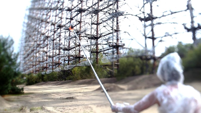 The Russian Woodpecker (image 1)