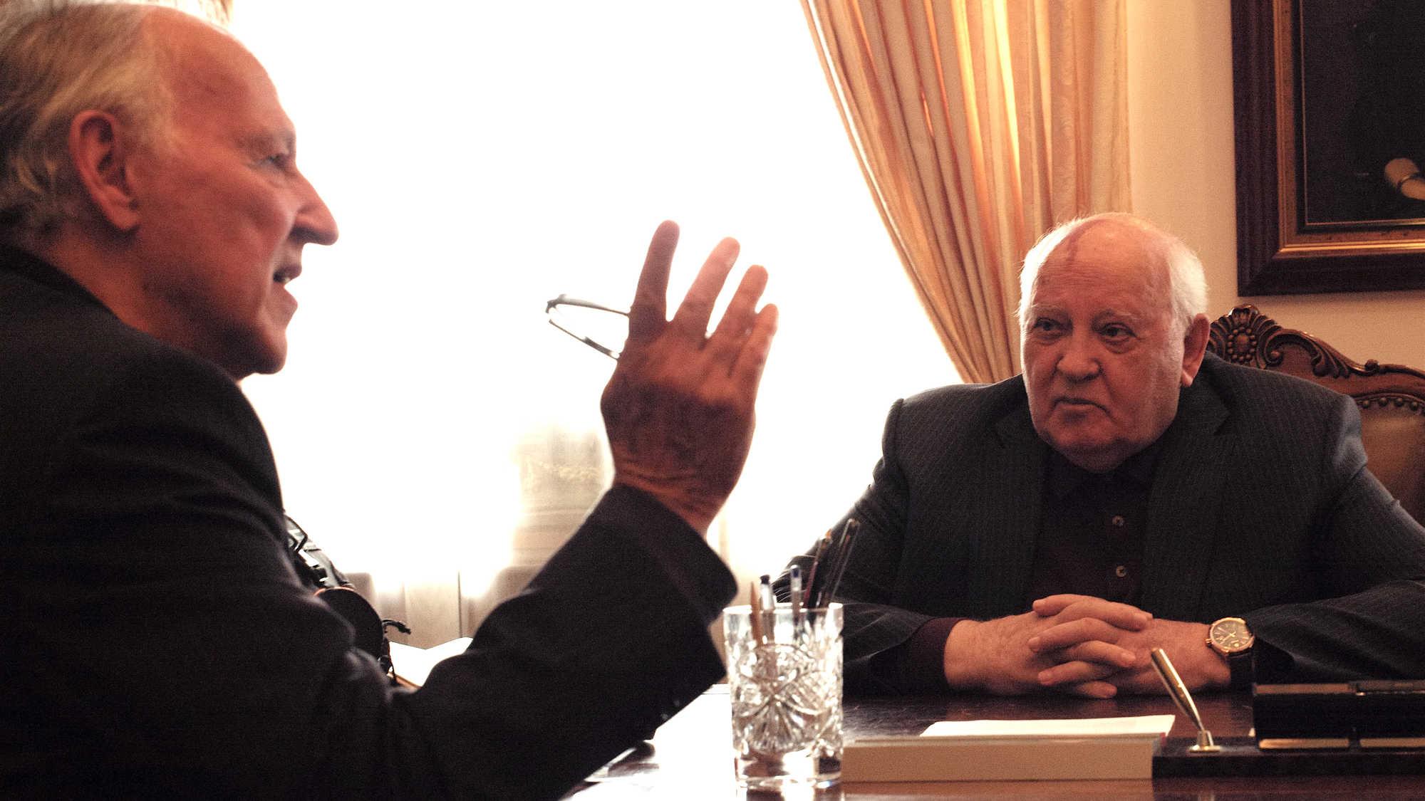 film al cinema a novembre, Herzog incontra Gorbaciov, Werner Herzog